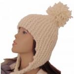 photo tricot modèle tricot bonnet péruvien 3