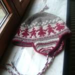 photo tricot modèle tricot bonnet péruvien 6