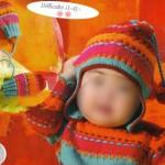 photo tricot modèle tricot bonnet péruvien 9