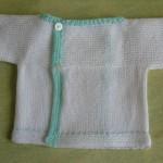 photo tricot modèle tricot débutant pour bébé 12