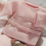 photo tricot modèle tricot débutant pour bébé 3