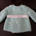 photo tricot modèle tricot débutant pour bébé 7