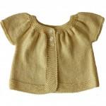 photo tricot modèle tricot débutant pour bébé 8