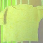 photo tricot modèle tricot debutant technique 13
