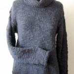 photo tricot modèle tricot debutant veste 10