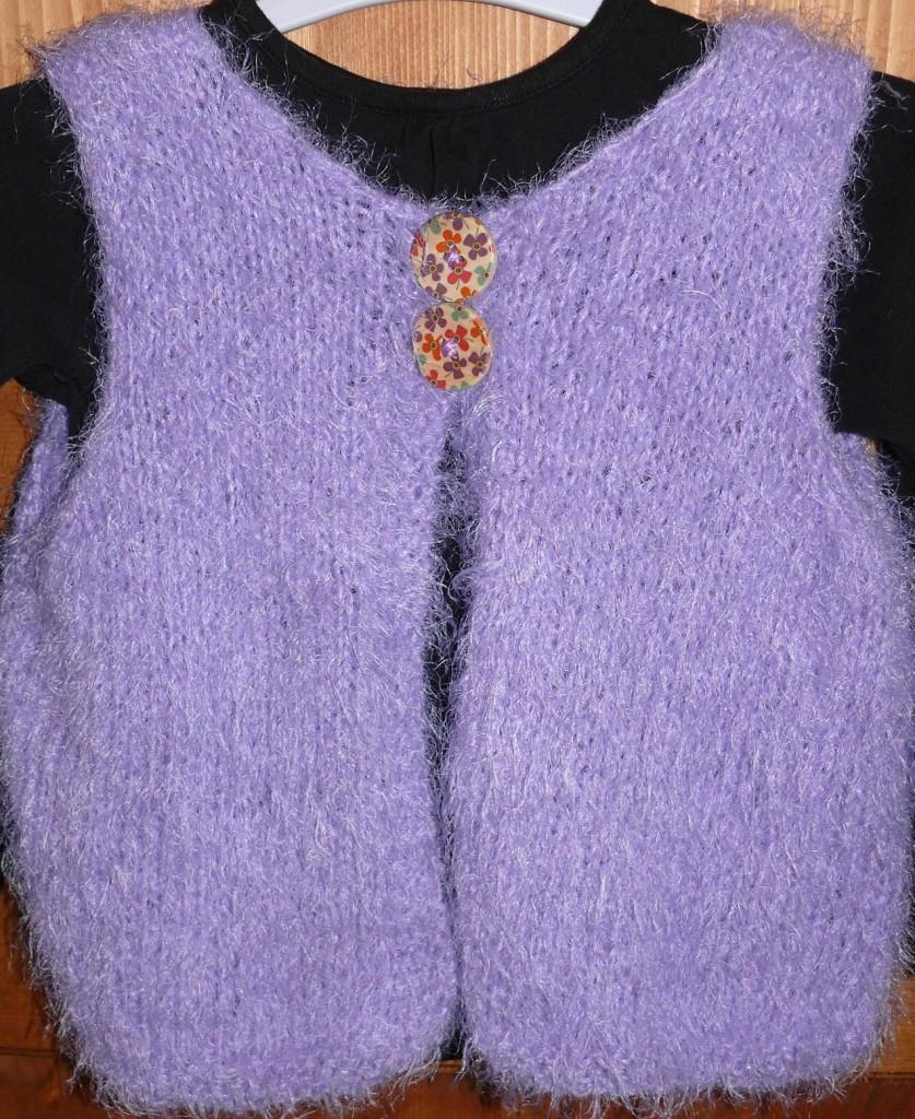 modèle gilet tricot grande taille