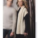 photo tricot modèle tricot debutant veste 17