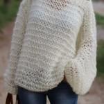 photo tricot modèle tricot debutant veste 18