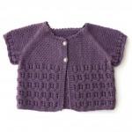 photo tricot modèle tricot debutant veste 8