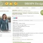 photo tricot modèle tricot drops 4