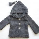 photo tricot modèle tricot facile bébé 13