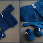 photo tricot modèle tricot facile bébé