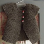 photo tricot modèle tricot facile bébé 7