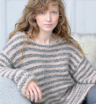photo tricot modèle tricot facile femme 2