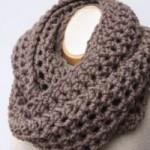 photo tricot modèle tricot facile snood gratuit 10