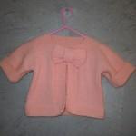 photo tricot modèle tricot gilet bébé gratuit 14