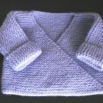 photo tricot modèle tricot gilet bébé gratuit 17