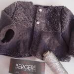 photo tricot modèle tricot gilet bébé gratuit 18
