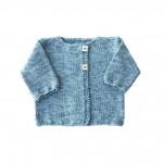 photo tricot modèle tricot gilet bébé gratuit 3