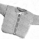 photo tricot modèle tricot gilet bébé gratuit 5