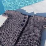 photo tricot modèle tricot gilet bébé gratuit 7