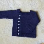 photo tricot modèle tricot gilet bébé gratuit 8
