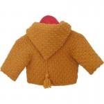 photo tricot modèle tricot gilet capuche bébé 12