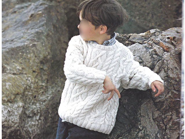 photo tricot modèle tricot gilet garçon 11