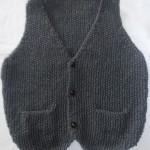 photo tricot modèle tricot gilet garçon 13