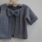 photo tricot modèle tricot gilet garçon 17