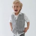 photo tricot modèle tricot gilet garçon 18