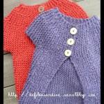 photo tricot modèle tricot gilet grosse laine 10