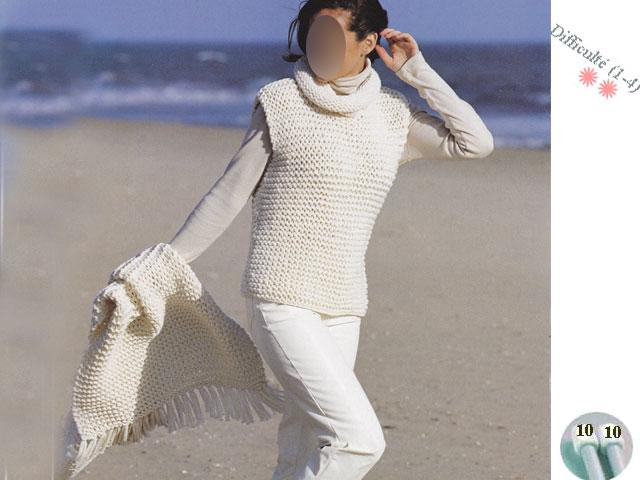 photo tricot mod le tricot gilet grosse laine 11. Black Bedroom Furniture Sets. Home Design Ideas