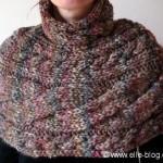 photo tricot modèle tricot gilet grosse laine 12