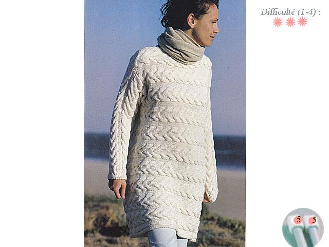 photo tricot mod le tricot gilet grosse laine 14. Black Bedroom Furniture Sets. Home Design Ideas