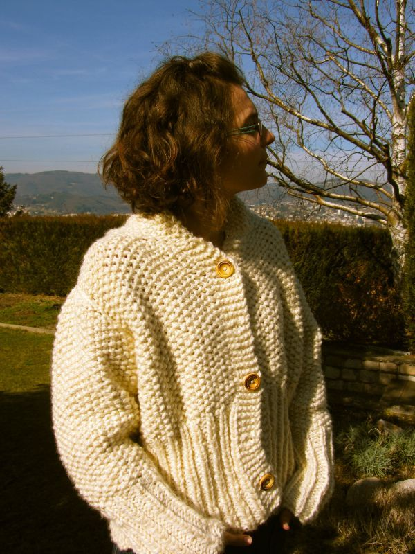 photo tricot mod le tricot gilet grosse laine 16. Black Bedroom Furniture Sets. Home Design Ideas
