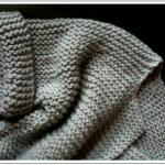 photo tricot modèle tricot gilet grosse laine 17