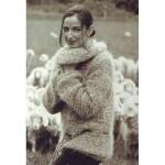 photo tricot modèle tricot gilet grosse laine 18
