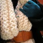 photo tricot modèle tricot gilet grosse laine 3