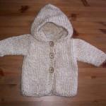 photo tricot modèle tricot gilet grosse laine 7
