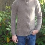 photo tricot modèle tricot gilet homme 11