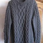 photo tricot modèle tricot gilet homme 13