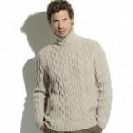 photo tricot modèle tricot gilet homme 15
