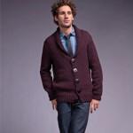 photo tricot modèle tricot gilet homme 18