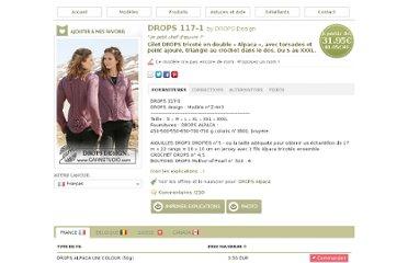 photo tricot modèle tricot gilet xxl 10