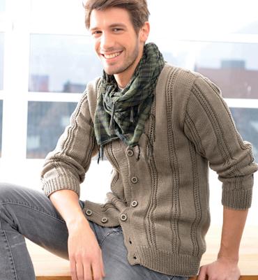 photo tricot modèle tricot gilet xxl 11