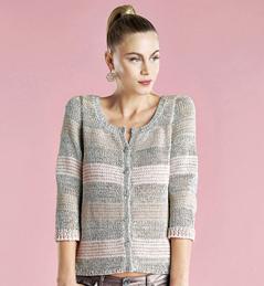 photo tricot modèle tricot gilet xxl 16