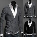 photo tricot modèle tricot gilet xxl 18