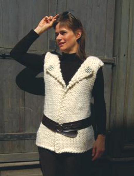 photo tricot modèle tricot gilet xxl 2