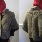 photo tricot modèle tricot gilet xxl 5